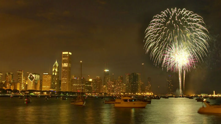 navy pier fireworks chicago