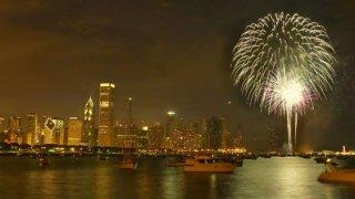 navy pier fireworks chicago