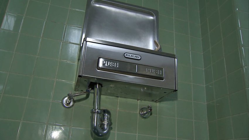 newark water fountains