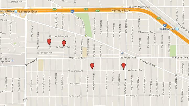 northwest side residential burglaries