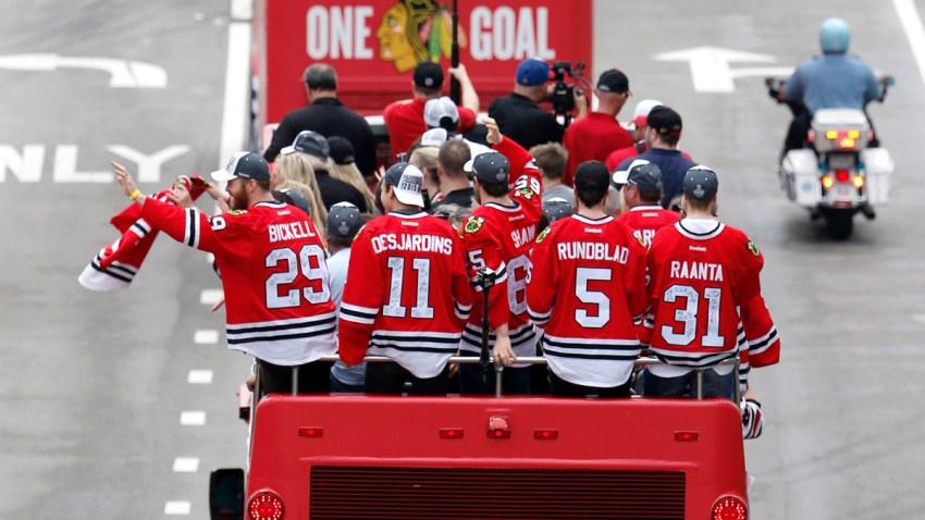 Blackhawks Stanley Cup Parade Hockey