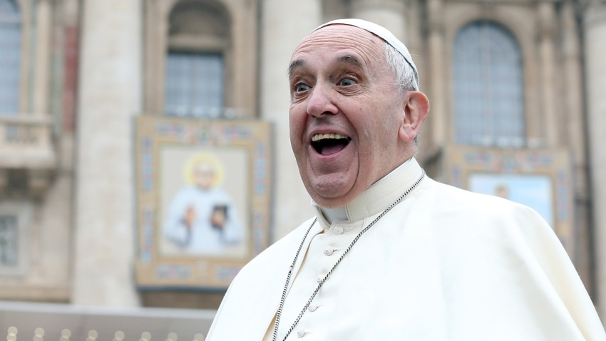 525438583FO026_POPE_FRANCIS