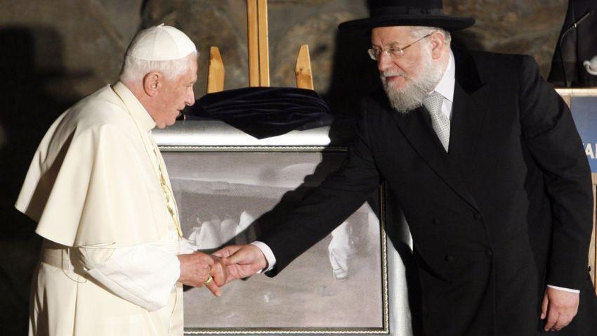 MIDEAST ISRAEL POPE