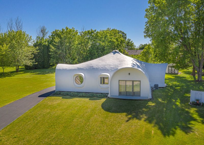 See Inside: 'Unique' Cement Poplar Grove Home Listed for $170K