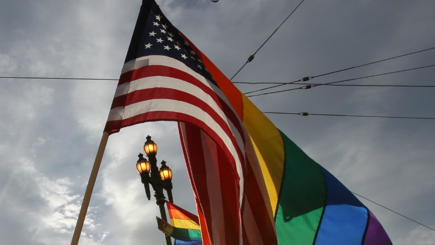 rainbow flag GettyImages-478828218