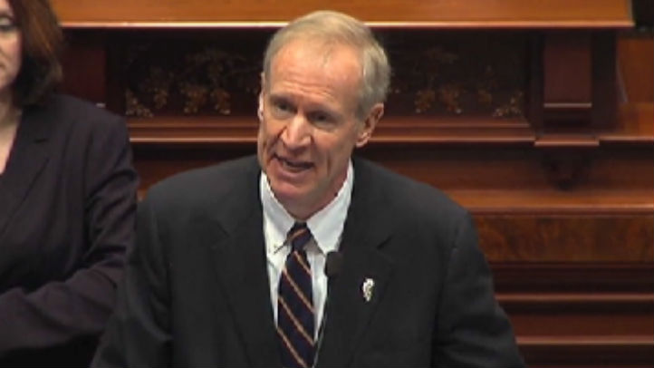 rauner state of the state 2016
