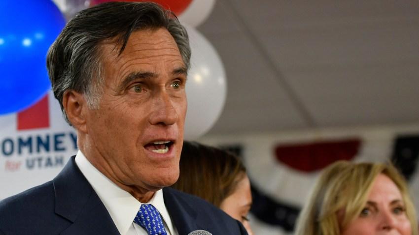 Election 2018 Senate Romney Utah