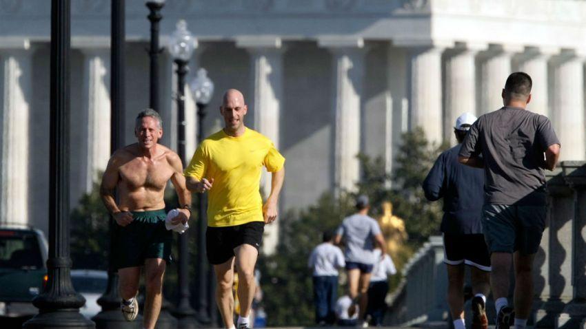 running washington DC getty