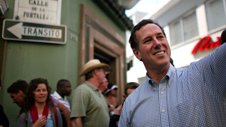 Puerto Rico Santorum 2012