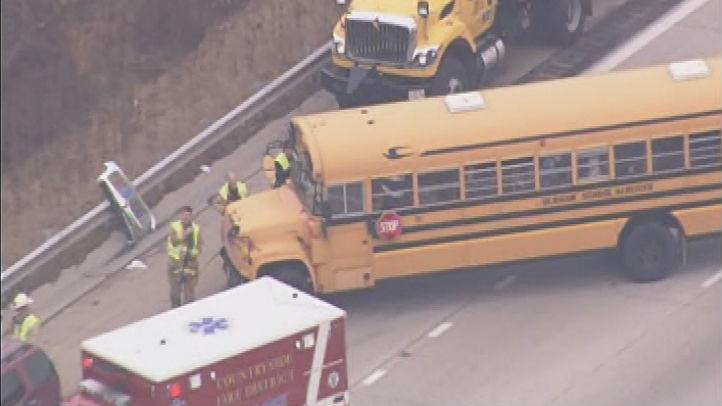 school bus ax I94