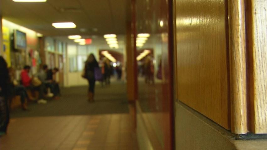 school generic hallway bully