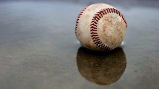 rainy wet baseball generic