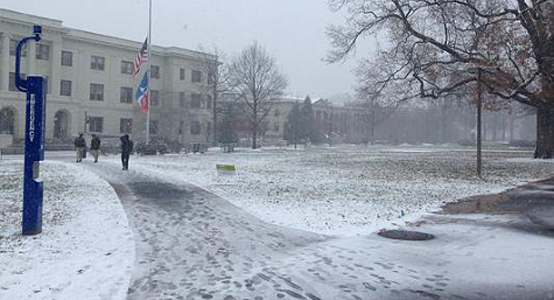 snow in dc