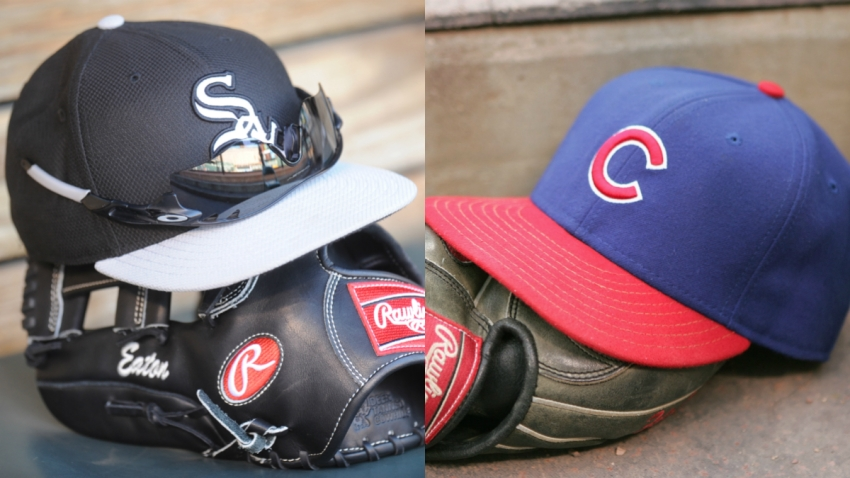sox cubs hats