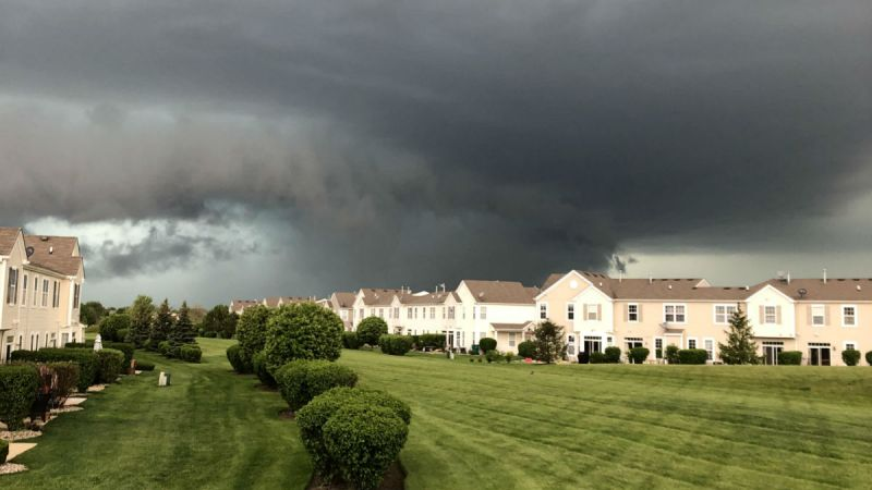 Chicago Weather Photos: Storms Slam Illinois With High Winds, Large Hail