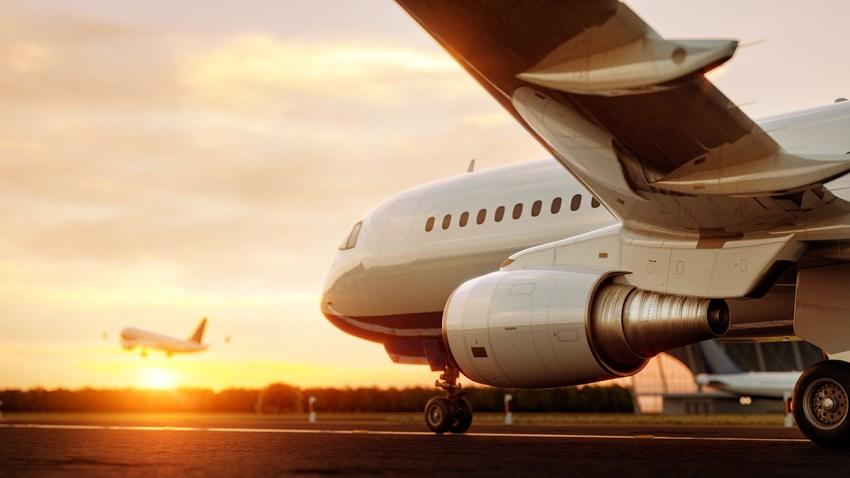 Foto genérica de un avión.
