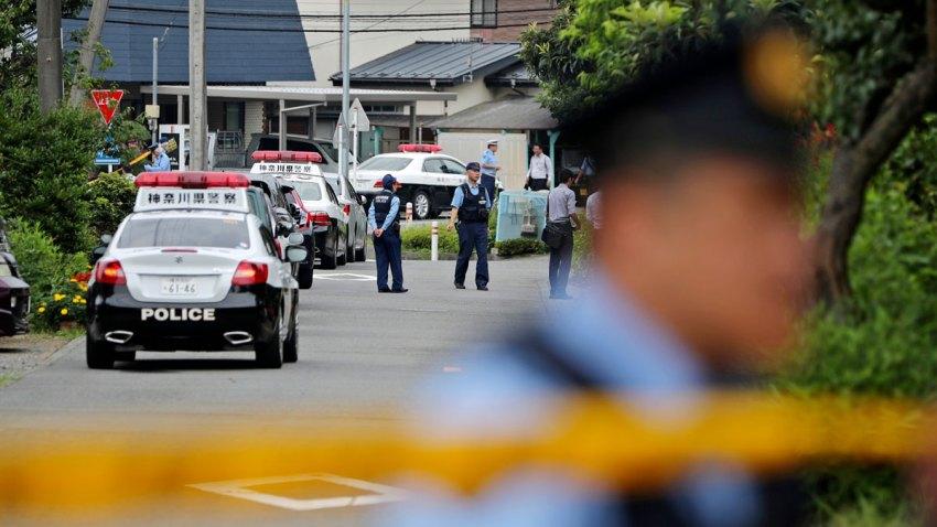 APTOPIX Japan Knife Attack