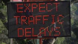 traffic delays foto