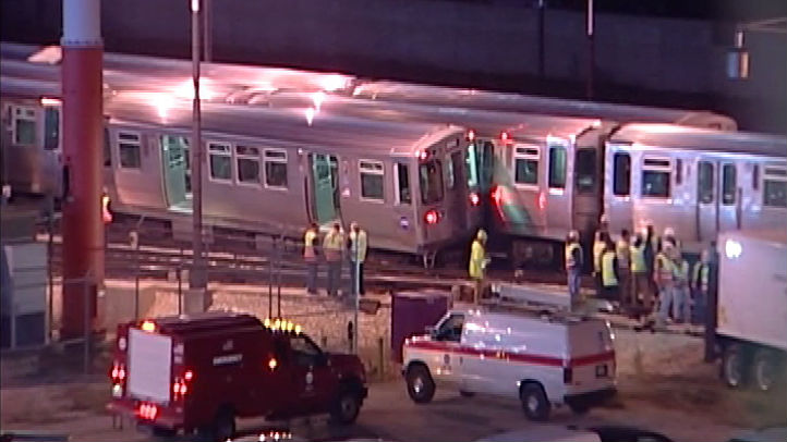 train derail orange line