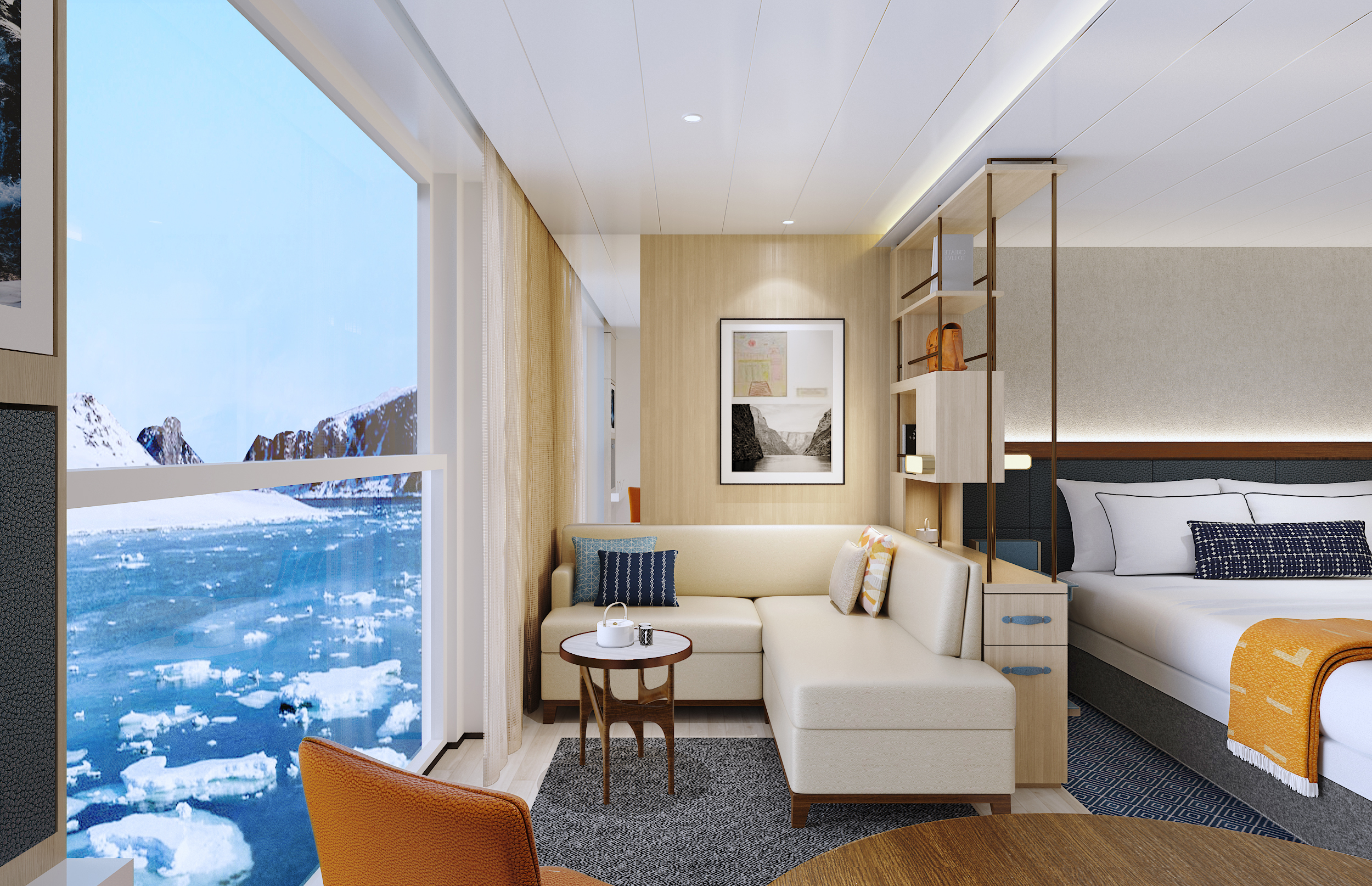 Photos: See Inside the New Cruise Ships Heading for Great ...