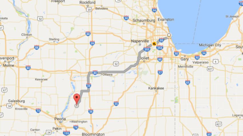 washburn google map