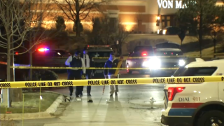 Police investigate after two people were hit by a car in Orland Park on December 4th.