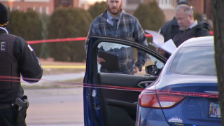 Chicago police investigate a fatal shooting in South Shore on February 22nd.