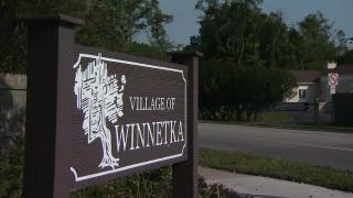 web - village of winnetka sign