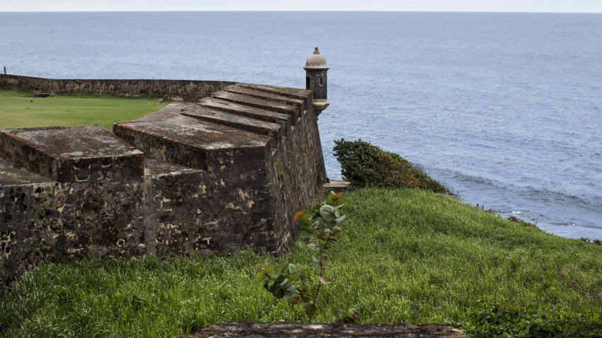 A file photo of the Castillo San Cristobal fort in San Juan, Puerto Rico.