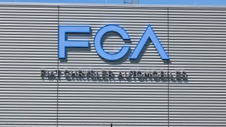 Tipton - Circa April 2017: FCA Fiat Chrysler Automobiles Transmission Plant. FCA sells vehicles under the Chrysler, Dodge, and Jeep brands VII