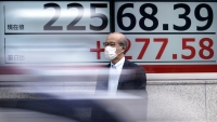 Shares Mostly Lower in Asia After Retreat on Wall Street