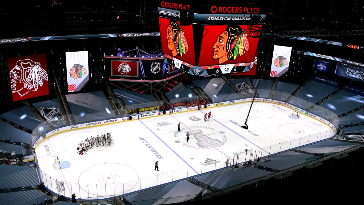 Blackhawks Advance To Stanley Cup Playoffs Defeating Oilers In Game 4 Nbc Chicago