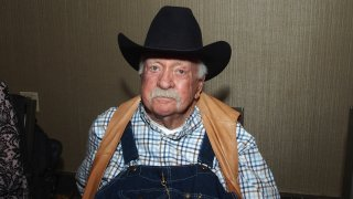 Wilford Brimley attends the Chiller Theatre Expo Fall 2019 at Parsippany Hilton on October 25, 2019 in Parsippany, New Jersey.