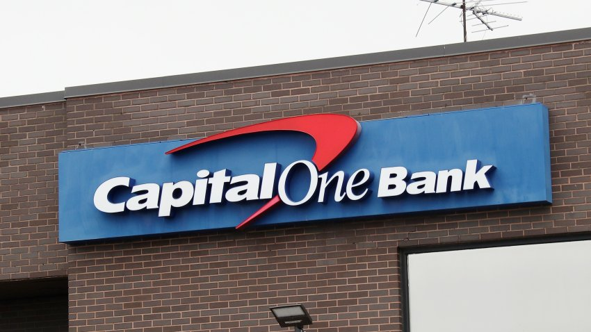 A Capital One Bank Sign