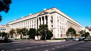 File photo - Justice Department building, Washington, D.C.