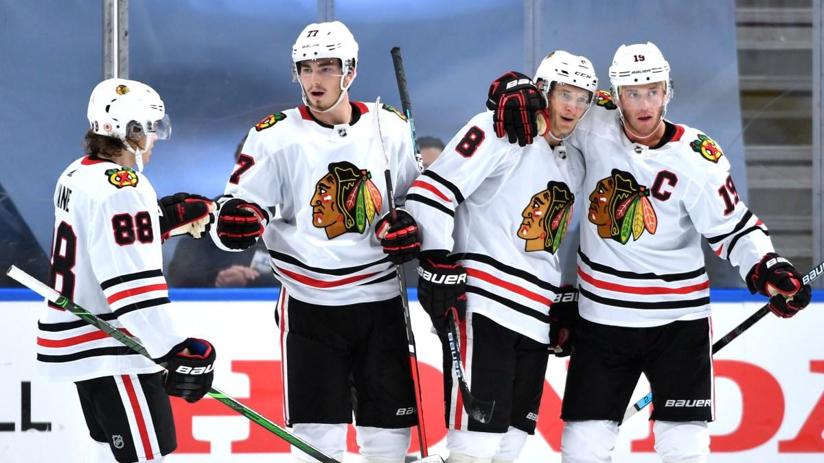 Blackhawks Beat Oilers In Game 1 Thriller Nbc Chicago