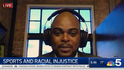Sports Talk Personality Jason Goff on Athletes Protesting After Jacob Blake Shooting