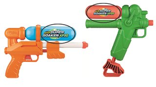 The Consumer Producer Safety Commission announced a recall of Hasbro's Super Soaker XP 30 and XP 20 (above), due to high levels of lead in the ink on the water tank. Both products are sold at Target.