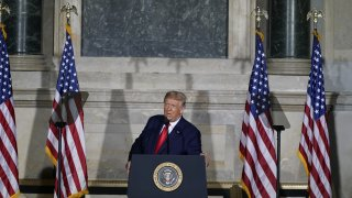 President Trump Speaks At White House Conference On American History