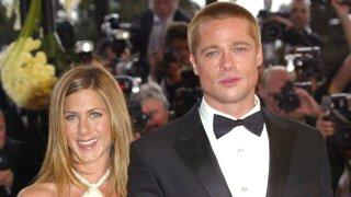 Jennifer Aniston and Brad Pitt