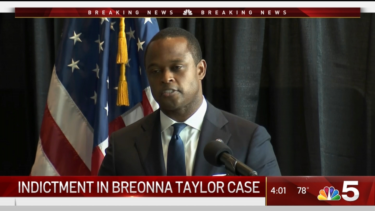 Officer Charged In Breonna Taylor Case But Not For Her Death Nbc Chicago