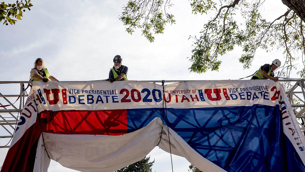 Mike Pence and Kamala Harris VP Debate Will Have Plexiglass Barrier Because of Coronavirus Concerns – NBC Chicago