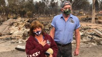 California Wildfire Evacuees Return Home to Find Devastation