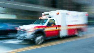 ambulance generic daytime