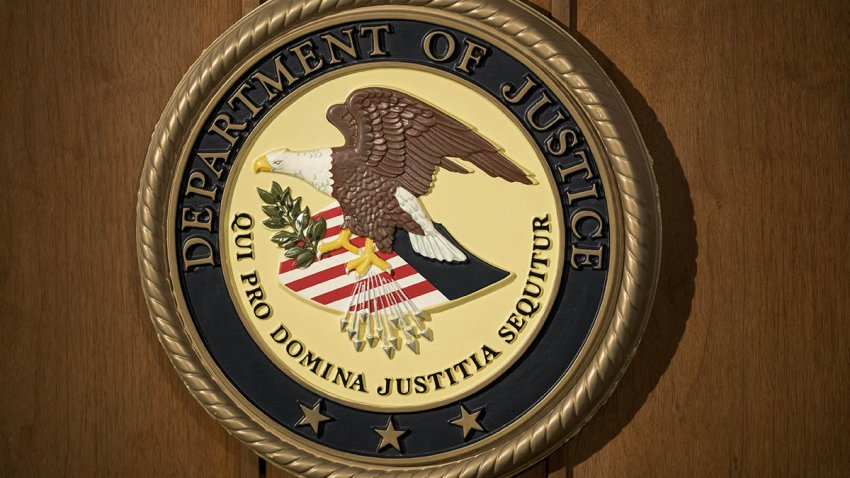 The U.S. Department of Justice seal