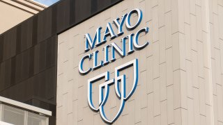 General views of the Mayo Clinic Sports Medicine building on September 05, 2020 in Minneapolis, Minnesota