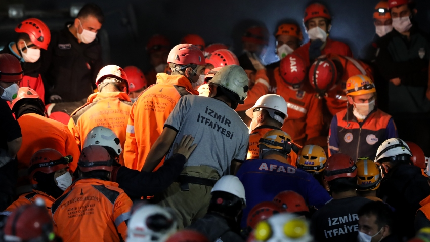 Turkey: Search, rescue work continues after earthquake