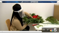 Wreaths of 'LUV' Go on Sale to Help Make a Difference This Holiday Season
