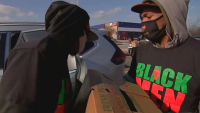 Group Hosts Drive-Through Food Giveaway in Chicago Suburbs