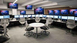 The NBC Newsroom.